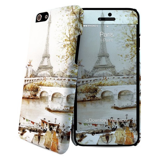 i Paint Paris custodia per cellulare