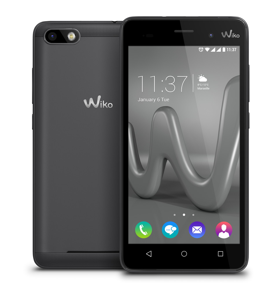 smartphone wiko lenny 3 16gb grigio in offerta su unieuro. Black Bedroom Furniture Sets. Home Design Ideas