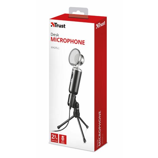Trust 21672 microfono PC microphone Nero