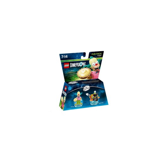 Image of LEGO Dimensions Fun Pack - Krusty the Clown personaggio per gioco di c
