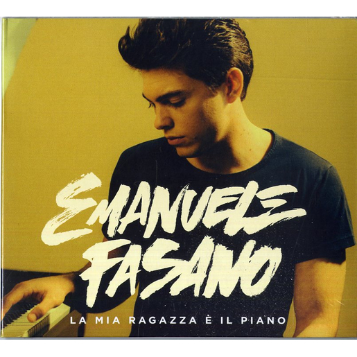 Image of A1 Entertainment Emanuele Fasano - La mia ragazza è il piano, CD Pop