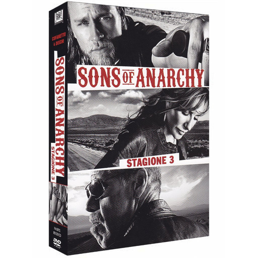 Image of Sons of anarchy - stagione 3 (DVD)