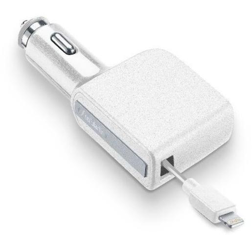 Cellularline CBRARMFIIPH2AW Auto Bianco caricabatterie per cellulari e