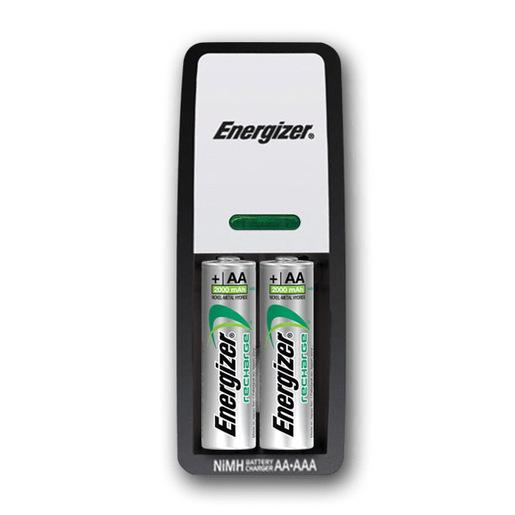 Image of Energizer Mini Charger Batteria per uso domestico AC