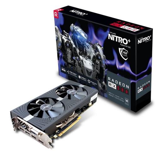 Image of Sapphire 11265-31-20G scheda video Radeon RX 580 4 GB GDDR5