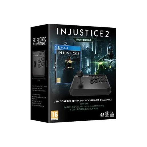 Injustice 2 + HORI Fighting Stick Mini PS4