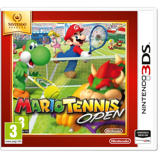 Image of Nintendo Mario Tennis Open, 3DS Selects