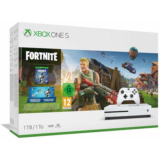 Image of Xbox One S 1TB + Fortnite + GamePass 1 mese