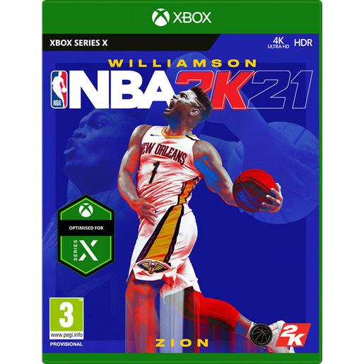 Image of NBA 2K21 XBOX X
