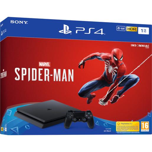 Image of Sony Playstation 4 1TB + Marvel's Spider-Man