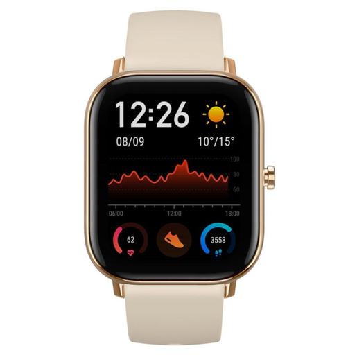 Image of Amazfit GTS smartwatch Oro AMOLED 4,19 cm (1.65'') Cellulare GPS (satel
