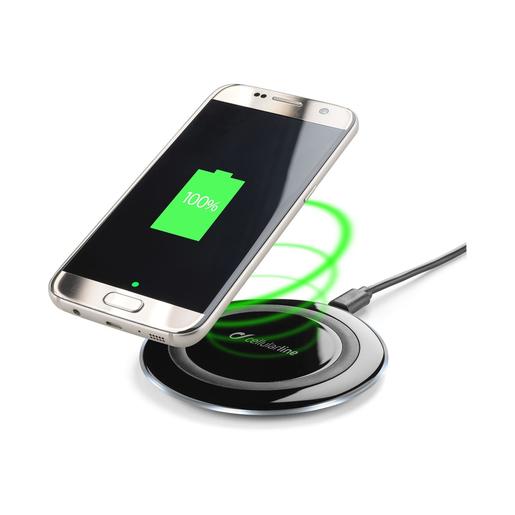 Cellularline Wireless Charger Caricabatterie senza fili pratico e funz