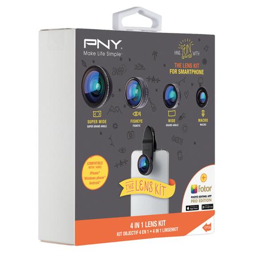 Image of PNY LNS-4N1-02-RB obiettivo per cellulare Nero