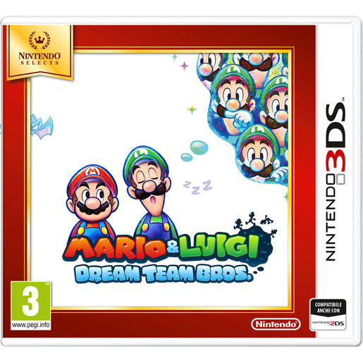 Image of Mario & Luigi: Dream Team, Nintendo 3DS Selects
