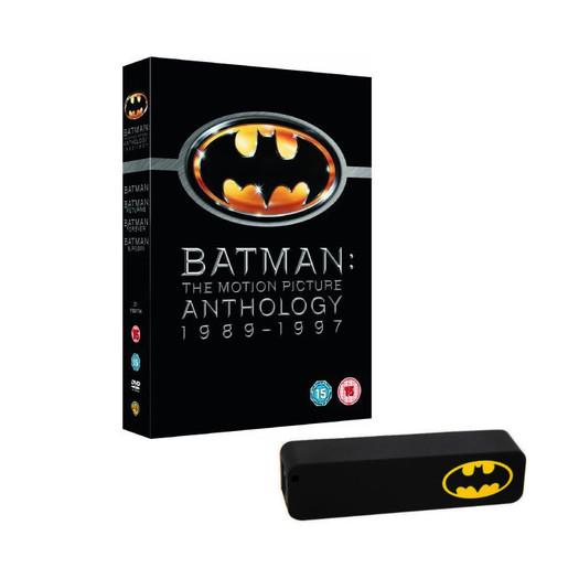 Image of Batman anthology + power bank (DVD)