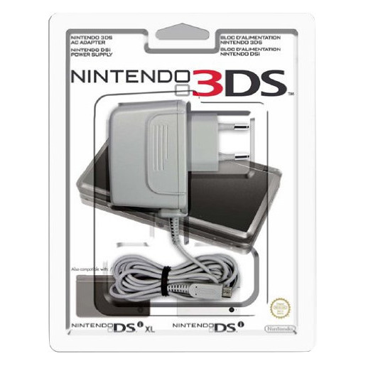 Image of Nintendo Power Adapter for 3DS/DSi/DSi XL Interno Grigio caricabatteri