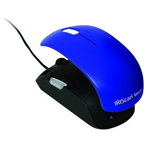 Image of I.R.I.S. IRISCan Mouse 2 Mouse scanner 300 x 300DPI A3 Nero, Blu