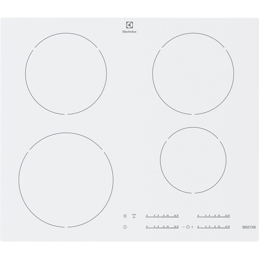 Image of Electrolux Rex EHH 6540 FW1 Incasso Induzione Bianco piano cottura