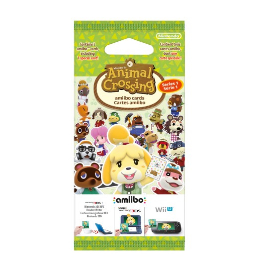 Image of Nintendoamiibo cards Animal Crossing Home serie 2 (3 pz.)