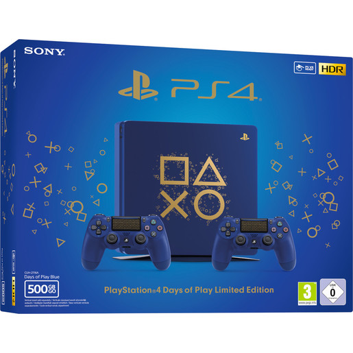 Image of Sony PS4 500GB Chassis E Limited Edition Days of Play