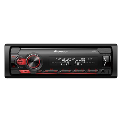 Image of Pioneer MVH-S220DAB Ricevitore multimediale per auto Nero 200 W