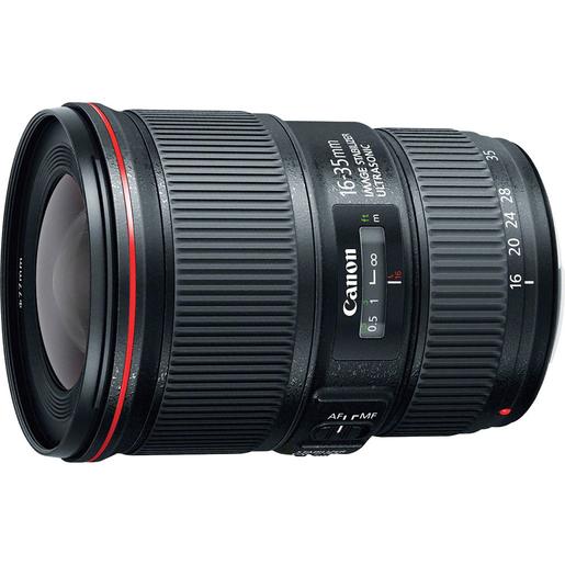 Image of Canon EF 16-35mm f/4L IS USM SLR Nero