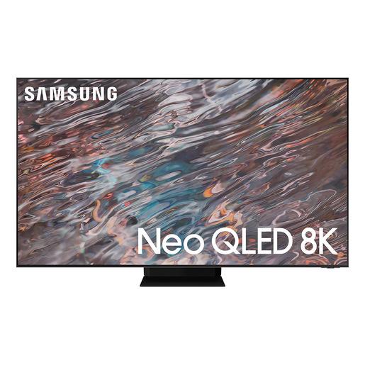 """Image of TV Neo QLED 8K 75"""" QE75QN800A Smart TV Wi-Fi 2021 Stainless Steel"""