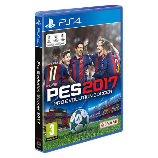 Pro Evolution Soccer 2017, PS4