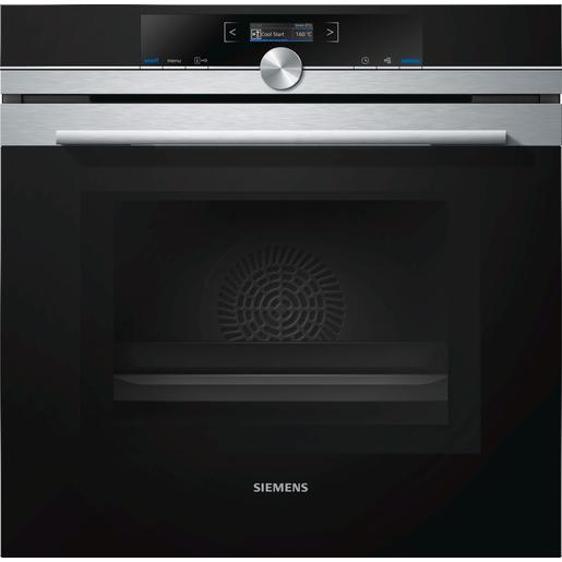 Image of Siemens HM633GNS1 Forno elettrico 67L Nero, Acciaio inossidabile forno