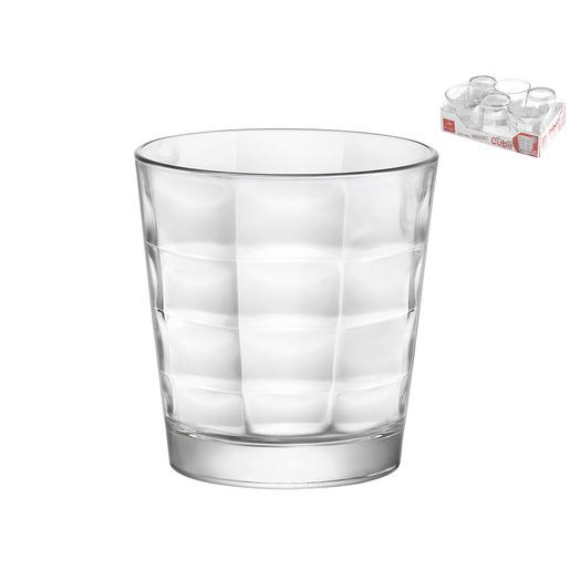 Image of Pengo Vassioio 6 bicchieri vetro acqua CUBE 24cl