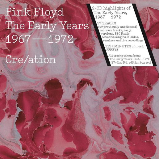 Pink Floyd The Early Years 1967 1972 Cre/ation, 2CD