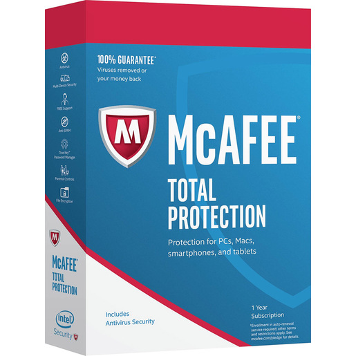 Image of McAfee Total Protection Licenza base 5 licenza/e 1 anno/i