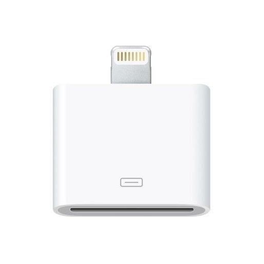 Image of Apple MD823ZM/A Lightning 30-pin Bianco cavo di interfaccia e adattato