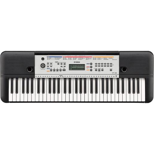 Image of Yamaha YPT-260 tastiera digitale Nero, Bianco 61 chiavi