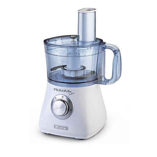 Ariete RoboMix Compact robot da cucina 1.2, 2 Argento, Traslucido, Bia