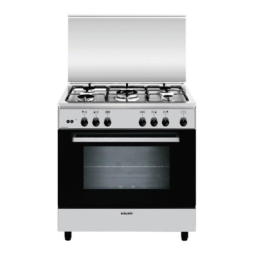Image of Glem A855GI Libera installazione 95L A Acciaio inossidabile cucina