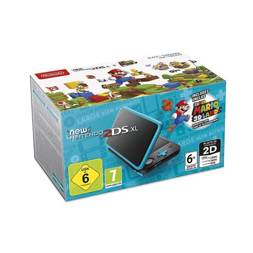 Image of Nintendo New 2DS XL + Super Mario 3D Land (download digitale) 4.88'' To