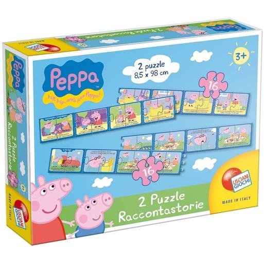 Image of Lisciani Peppa puzzle raccontastorie