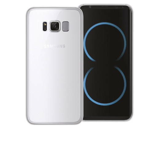 Image of Phonix Cover Gel Protection Plus per Samsung Galaxy S8 Plus - Traspare