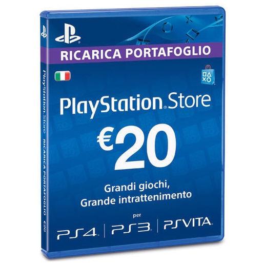 Image of PSN Card precaricata da 20 Euro PS4 branded