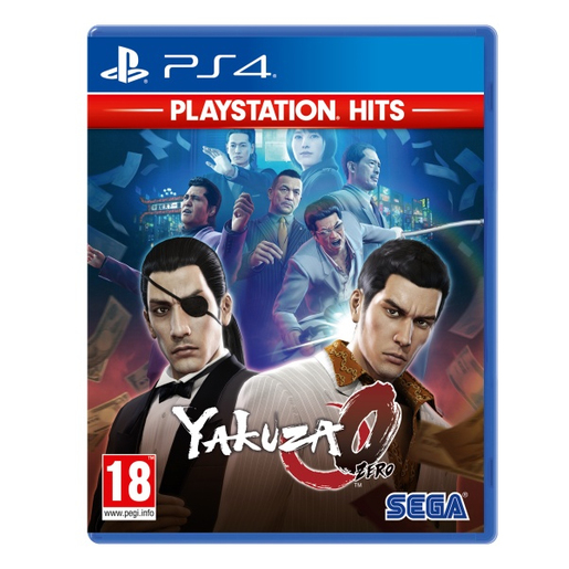 Image of Yakuza Zero, Playstation Hits