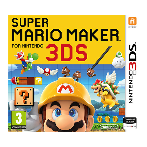 Image of Super Mario Maker, 3DS