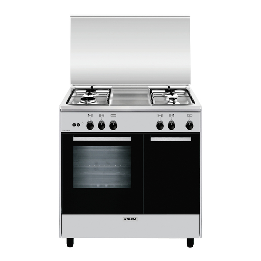 Image of Glem AR854GI Libera installazione 49L A Titanio cucina