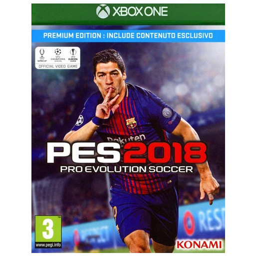 Image of PES 2018 Premium Ed. XBox One