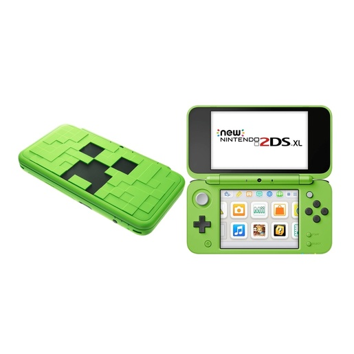 Image of Nintendo New 2DS XL Creeper edition 4.88'' Touch screen Wi-Fi Nero, Blu
