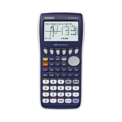 Image of Casio FX-9750GII calcolatrice grafica Blu