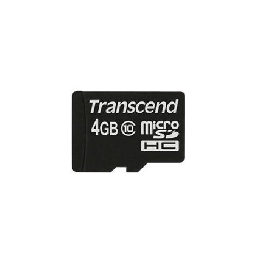 Transcend TS4GUSDC10 memoria flash 4 GB MicroSDHC Classe 10