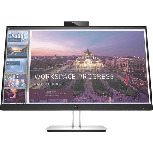 HP E24d G4 60,5 cm (23.8'') 1920 x 1080 Pixel Full HD LED Nero, Argento
