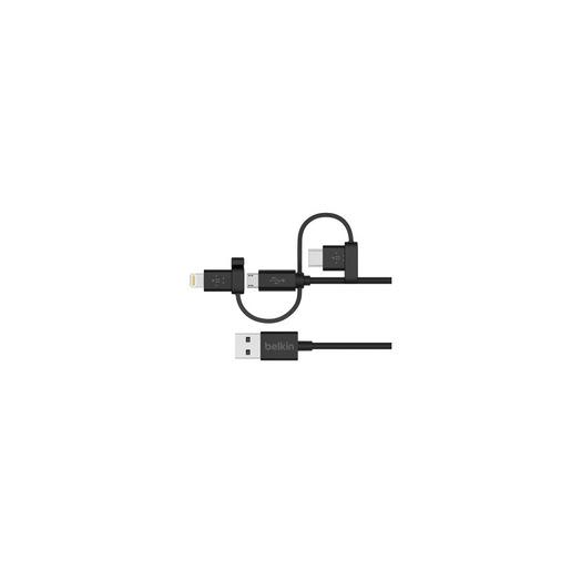 Image of Belkin F8J050bt04-BLK cavo USB 1,2 m 2.0 USB A Micro-USB B Nero