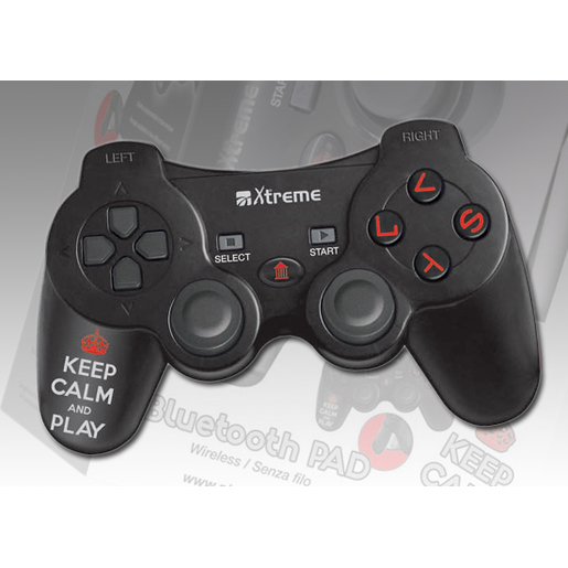 Image of Xtreme Controller PS3 Keep Calm & Play